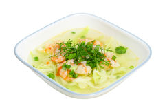 Lagenaria Soup Stock Photo