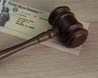 Lagenlighet av arkiveringen för handikappinkomst royaltyfri bild