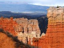 Lager av färgrika bildande av Bryce Canyon National Park Royaltyfri Foto