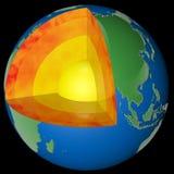 Lager av jorden vektor illustrationer