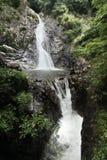 2 lager av Nunobiki vattenfall i Kobe, Royaltyfri Foto