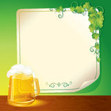 Lager Beer stock photo