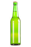 Lager beer bottle. Gloss with clipping path Stock Photo