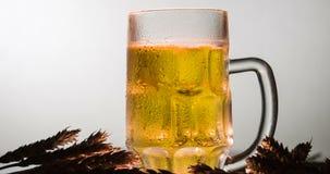 Lager Beer en una taza