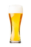 Lager beer glass Stock Images