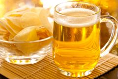 Lager beer Royalty Free Stock Photos
