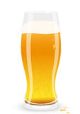Lager beer. Vector illustration. Stock Photography
