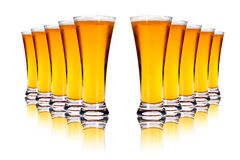 Lager beers Stock Photos