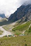 Lager Bezengi, Kaukasus stockbilder