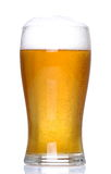 Lager with bubbles Royalty Free Stock Photos