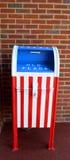 Lager der amerikanischen Flagge Lizenzfreie Stockfotografie