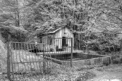 Lager in der Natur Stockfotografie