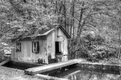 Lager in der Natur Lizenzfreie Stockfotografie