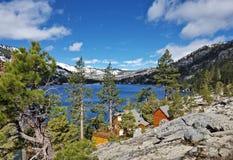 Lager Echo Lake, Tahoe, Californië royalty-vrije stock afbeeldingen