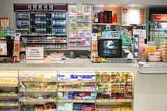lager 7-Eleven Arkivbild