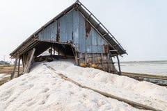 Lager för salt lager Royaltyfria Foton