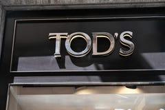 Lager för Tod ` s Arkivbild