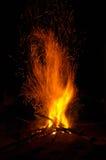 Lager-Feuer Lizenzfreie Stockbilder