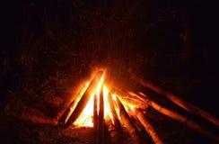 Lager-Feuer stockfotografie