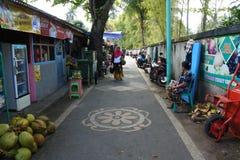 Lager i den Senggigi stranden, Lombok royaltyfri foto