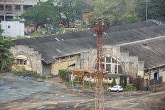 Lager i porten av Cochin Arkivfoto