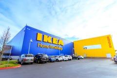 Lager IKEA för hem- inredningar Lokaliserat i kaskader Pkwy, Portland, Royaltyfri Bild