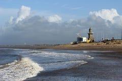 Lager licht en radar opleidingspost, Fleetwood stock afbeelding