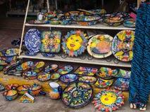 Lager på marknaden i Ensenada, Baja, Kalifornien, Mexico arkivfoto