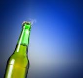 Lager piwo w butelce Zdjęcia Stock