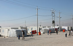 Lager Qadia IDP stockbild