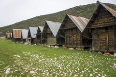Lager von Kalkan Stockfoto