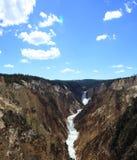 Lagere Dalingen, het Nationale Park van Yellowstone Royalty-vrije Stock Foto's