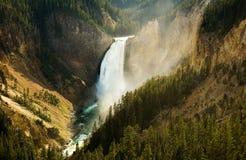Lagere Dalingen Yellowstone Royalty-vrije Stock Fotografie