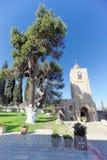 Lagere Galilee, Israël - 18 februari 2017 Orthodox klooster van de Transfiguratie van Lord bij Onderstel Tabor binnen Royalty-vrije Stock Afbeelding