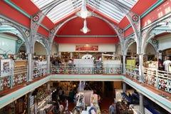 Lagere Marktzaal, markthal in Camden Lock in Londen stock afbeeldingen