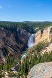 Lagere Val van de Rivier Yellowstone stock afbeeldingen