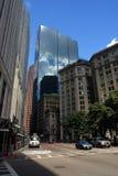 Lagerföra bilden av Boston horisont, Boston, USA Arkivbilder