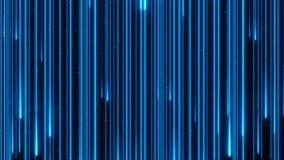 Lagerf?ra f?r f?rgregn f?r l?ngd i fot r?knat som h?rligt neon exponerar den digitala ?glan f?r animeringen 4K f?r designbegreppe arkivfilmer
