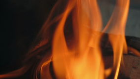 lagerfeuer stock video