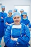 Laget av kirurger arkivbilder