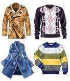 Lagförklädet beklär ärmlös tröjamode Arkivfoton