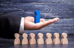 Lagframstickande ledarskap affär isolerad ledare över banawhite Lagframgång och prestation Förhöjning av effektivitet av arbete o arkivbild