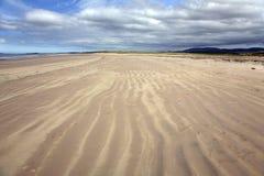 Laggan Bay Islay. Empty Beach Laggan Bay Islay Scotland royalty free stock photo