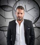 Laggard businessman Stock Photos