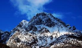 Laggio di Cadore, ландшафт, горы Dolomiti, Италия стоковые изображения rf