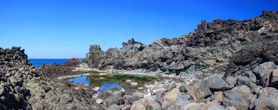 Laghetti delle ondine, Pantelleria Royalty Free Stock Image