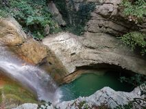 Laghetto de Cascata e Photos libres de droits