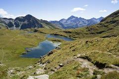 Laghi alpini Fotografie Stock Libere da Diritti