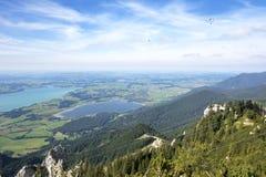 Laghi alpini Fotografia Stock Libera da Diritti