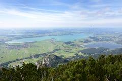 Laghi alpini Fotografia Stock
